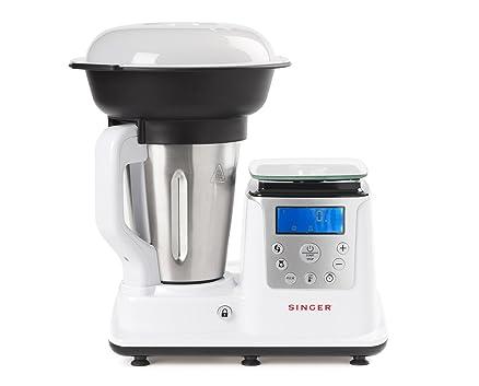 Singer Petit Chef Robot da cucina multifunzione - Cottura a Vapore ...