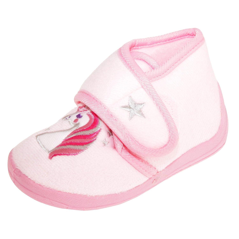 Slumberzzz Kids/Childrens Unicorn Slipper Boots