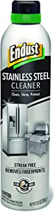 Endust Stainless Steel Cleaner, 12.5 Ounce