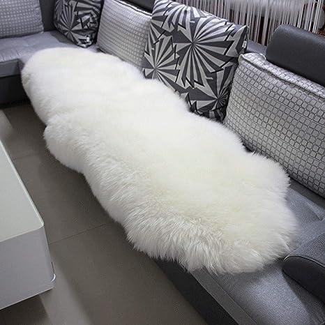KATLY Alfombra alfombras de Piel de Oveja Las esteras sofá de ...