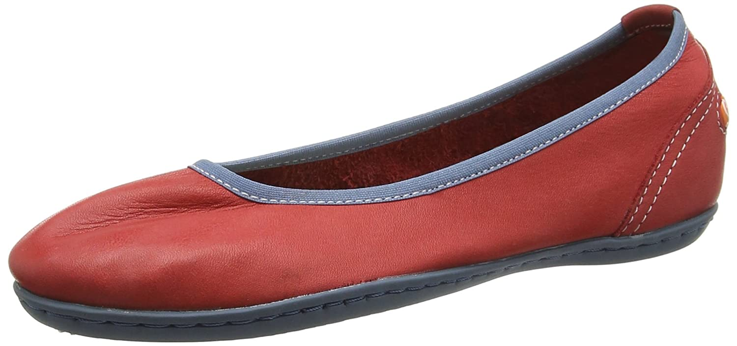 3296b433ae4ef Softinos Odelia, Women's Ballet Flats, Red (Red), 4 UK (37 EU ...