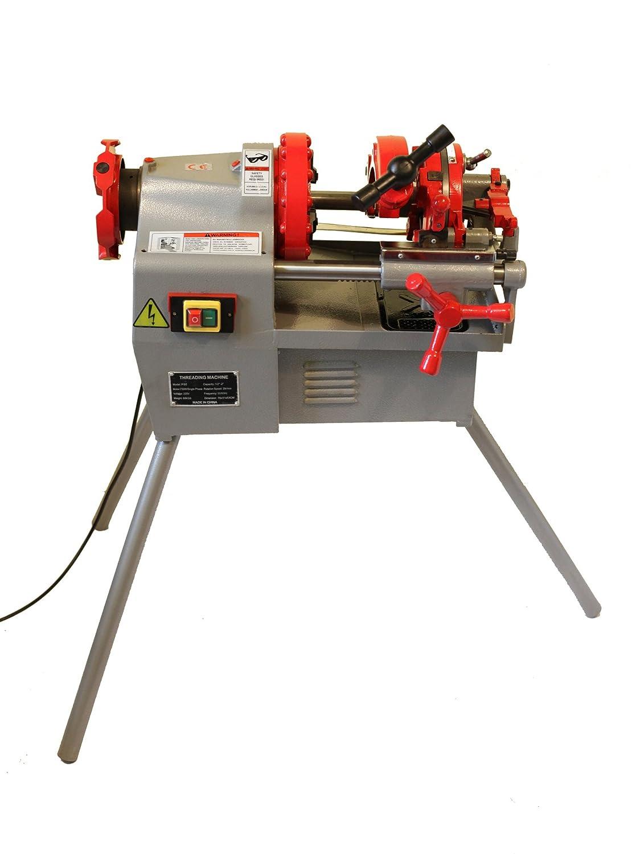 Electric Pipe Threader Machine 1 2 Threading Cutter 12 R Bspt 8 Ridgid 65950 Deburrer Npt P50