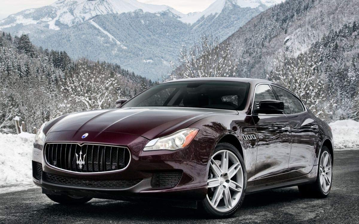 Maserati Poster Car Poster Wall Decoration High Quality 16x20