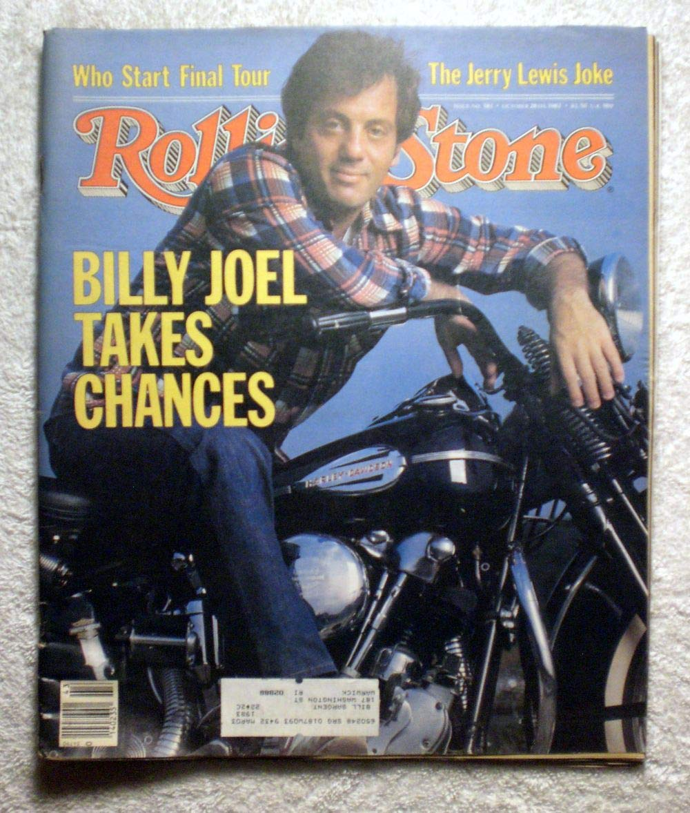 Billy Joel - Rolling Stone Magazine - #381 - October 28