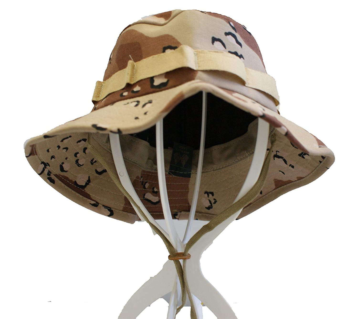 Military Original Bush Hat - Choc Chip/US Desert Camo (M)