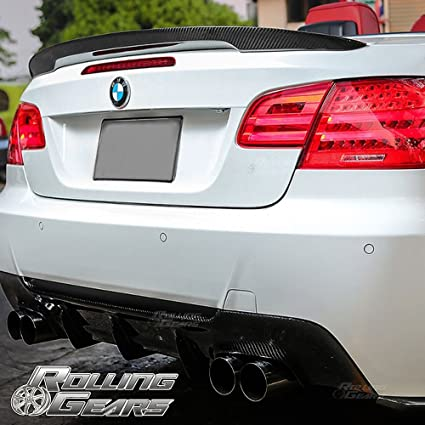 For 2007-2013 BMW E93 2-DR Convertible Carbon Fiber Rear Trunk Spoiler Wing
