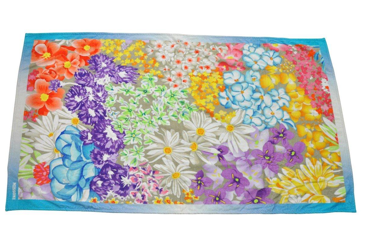 Missoni Home Toalla Towel Telo Mare servilleta toalla 170 x 100 cm - Naranja Label: Amazon.es: Hogar