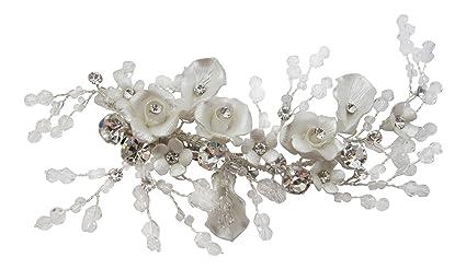Accessori Da Bagno Con Swarovski : Pick a gem matrimonio accessori per capelli a mano in argento con