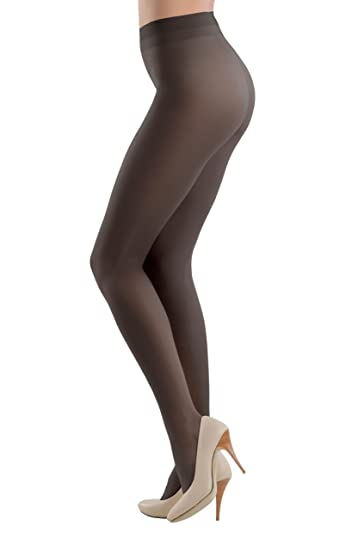 5d69cb458 Conte Women s Soft Silky Semi-Opaque Tan Pantyhose Tights - Prestige ...