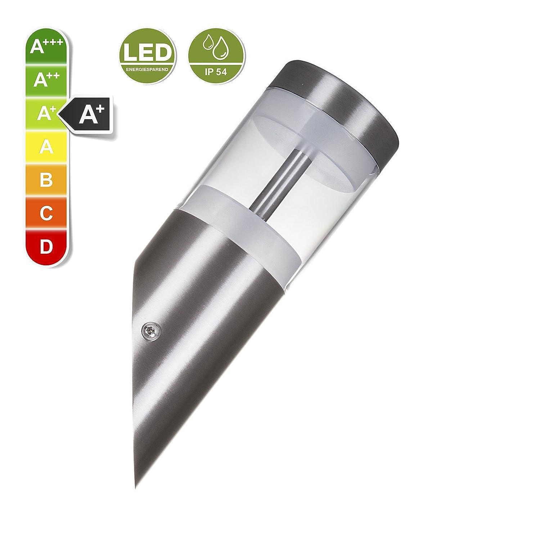 Murale Led So 230 Albero U Applique Inox Acier V Tech® Vrai 11 QCxedBorW