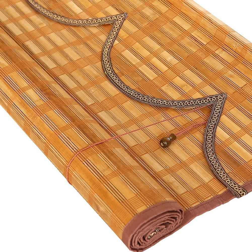 サンシェード竹のカーテンレトロ高透明ダストカーテンマルチサイズ (サイズ さいず : 120*220cm) 120*220cm  B07R8BBXKJ