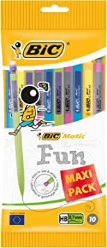 BIC Matic Strong Disposable Mechanical Pencils 0.9 mm Maxi Pack of 10