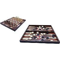 Tavla ve satranç takımı 2 li set megahediyelik