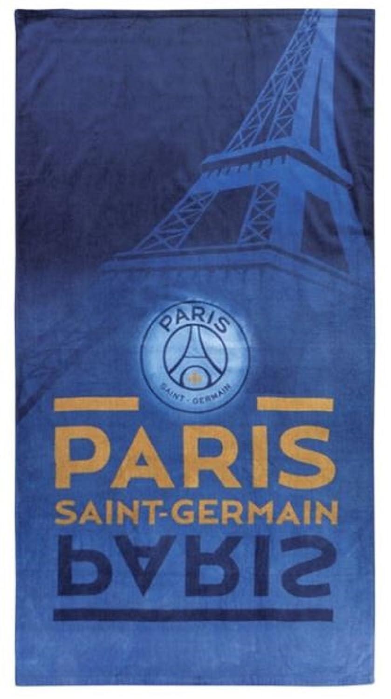 460f774ecf16b3 PSG- Serviette - Drap de bain plage Paris saint germain club neymar cavani  85X160 cm  Amazon.fr  Sports et Loisirs