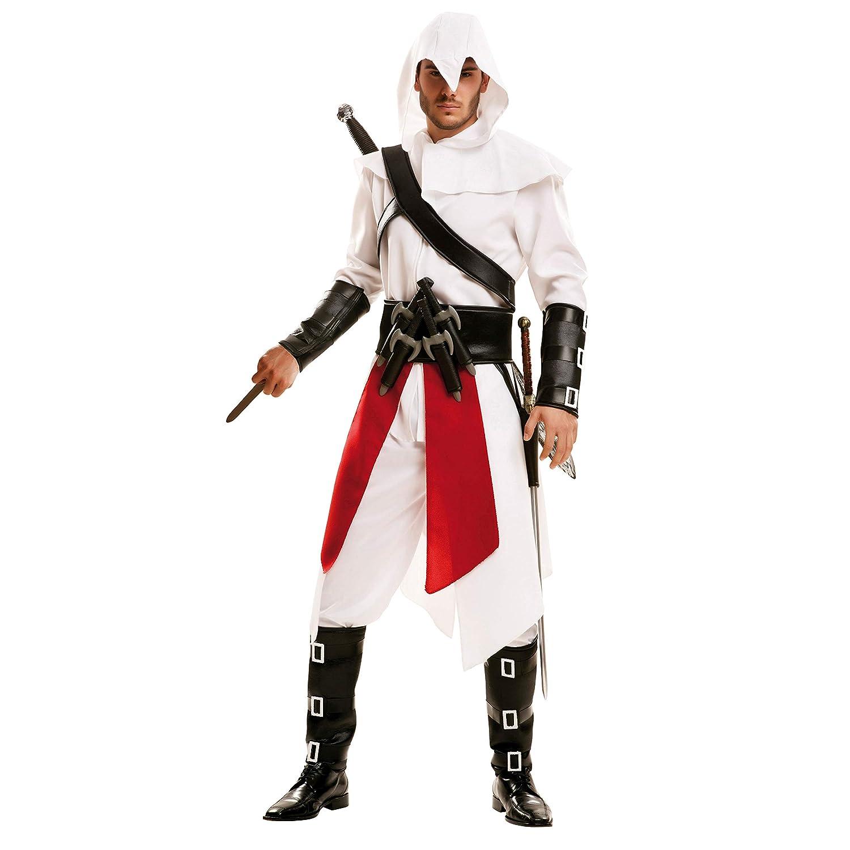 My Other Me 202611- Disfraz de asesino para hombre, color blanco ...