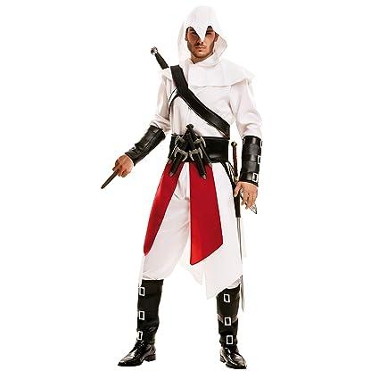 My Other Me 202068 - Disfraz de asesino para hombre, color blanco, talla ML