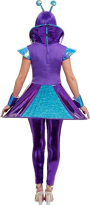 Smiffys Disfraz de Alienígena Morada para Mujer: Amazon.es ...