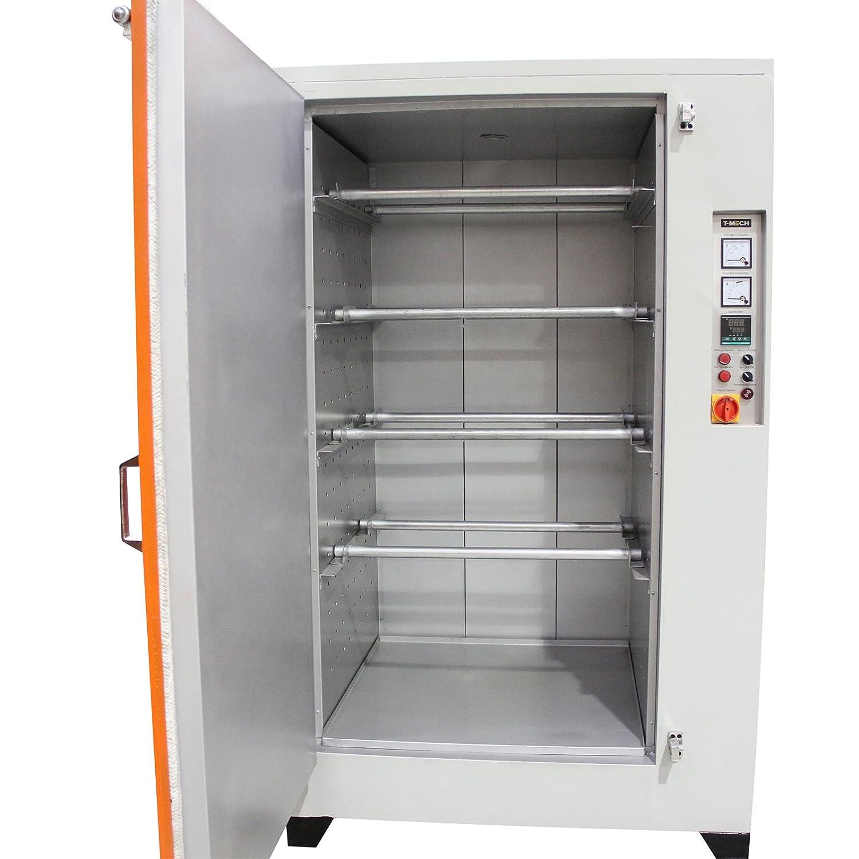 T-Mech - Horno de Curado para Secar Pintura en Polvo Electrostática Industrial 199cm x 101cm x 121cm: Amazon.es: Industria, empresas y ciencia
