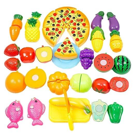 88 opinioni per Free fisher 1 Set Frutta Verdura Cucina Giocattolo Taglio Gioco Per Bambini, 24