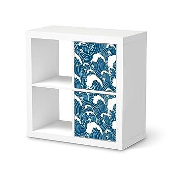 Creatisto Möbel Folie Für Ikea Kallax Regal 2 Türelemente Hochformat