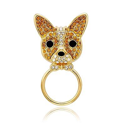 Amazon.com: senfai Lovely French Bulldog Soporte para ...