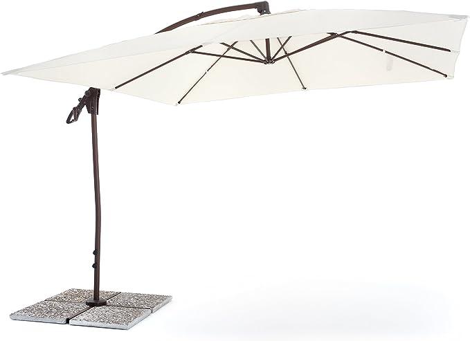 My_Garden M0429 - Sombrilla de jardín, 300 x 300 x 270 cm, Color ...