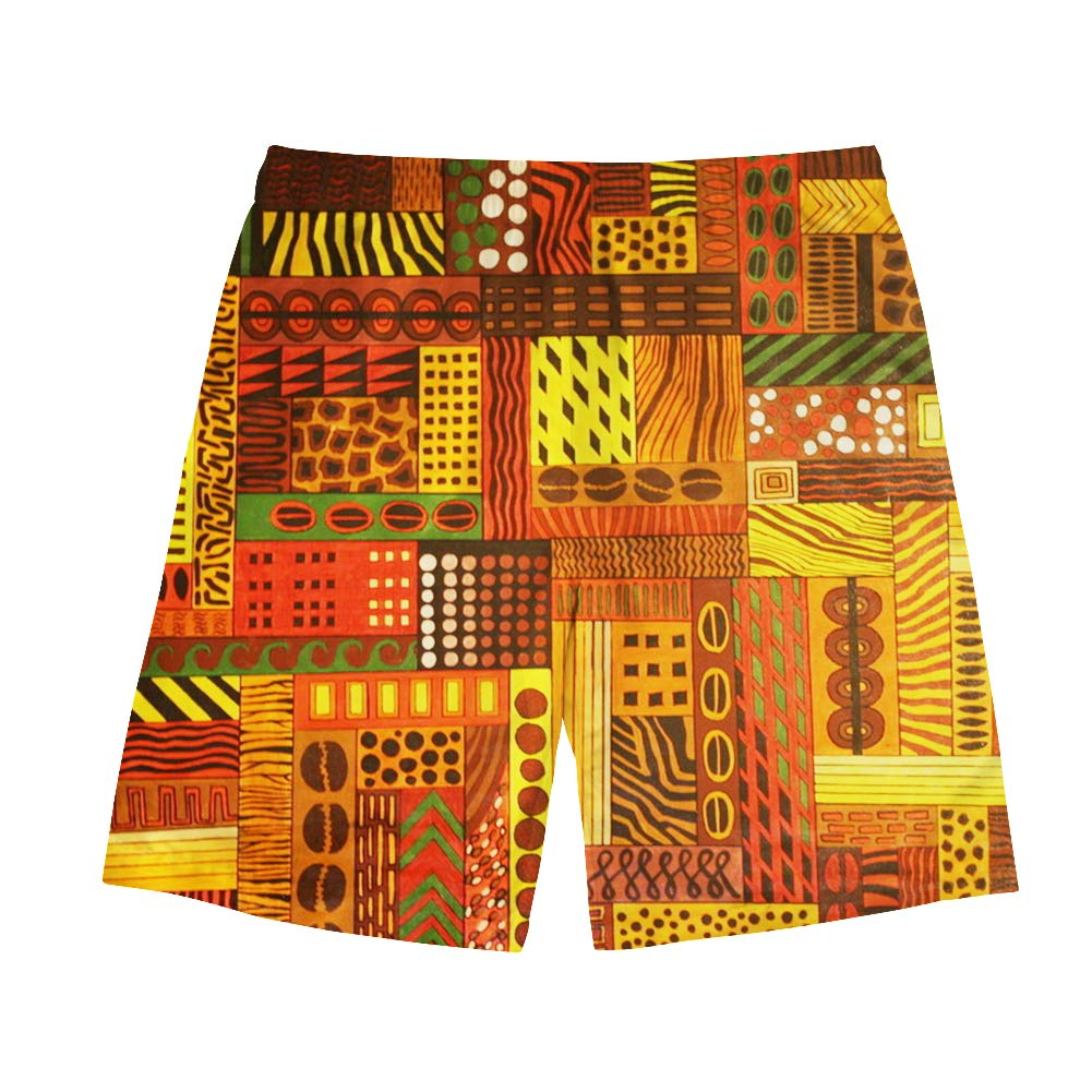 Salabomia Mens Summer Beach Shorts Board Swim Trunks with Pockets Sports Shorts