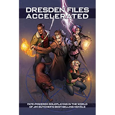 Dresden Files Accelerated (Fate Core): Evil Hat Productions: Toys & Games