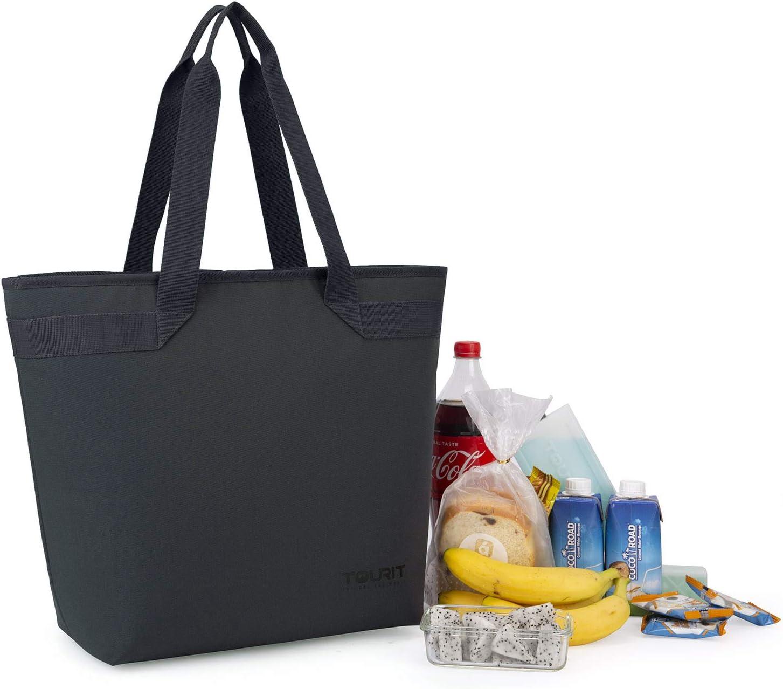 Bolsa de refrigeraci/ón Suave de 38 latas para Picnic al Aire Libre Playa Parque o excursiones de un d/ía Viajes TOURIT