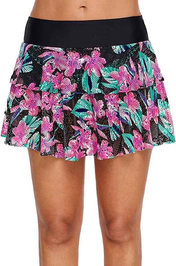 Sexy Falda Deportivas De Playa para Mujer Minifalda con Interior ...