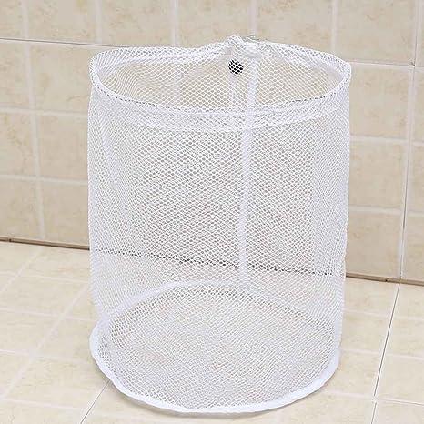 Elenxs Lavar la ropa blanca bolsas de malla lavado de ...