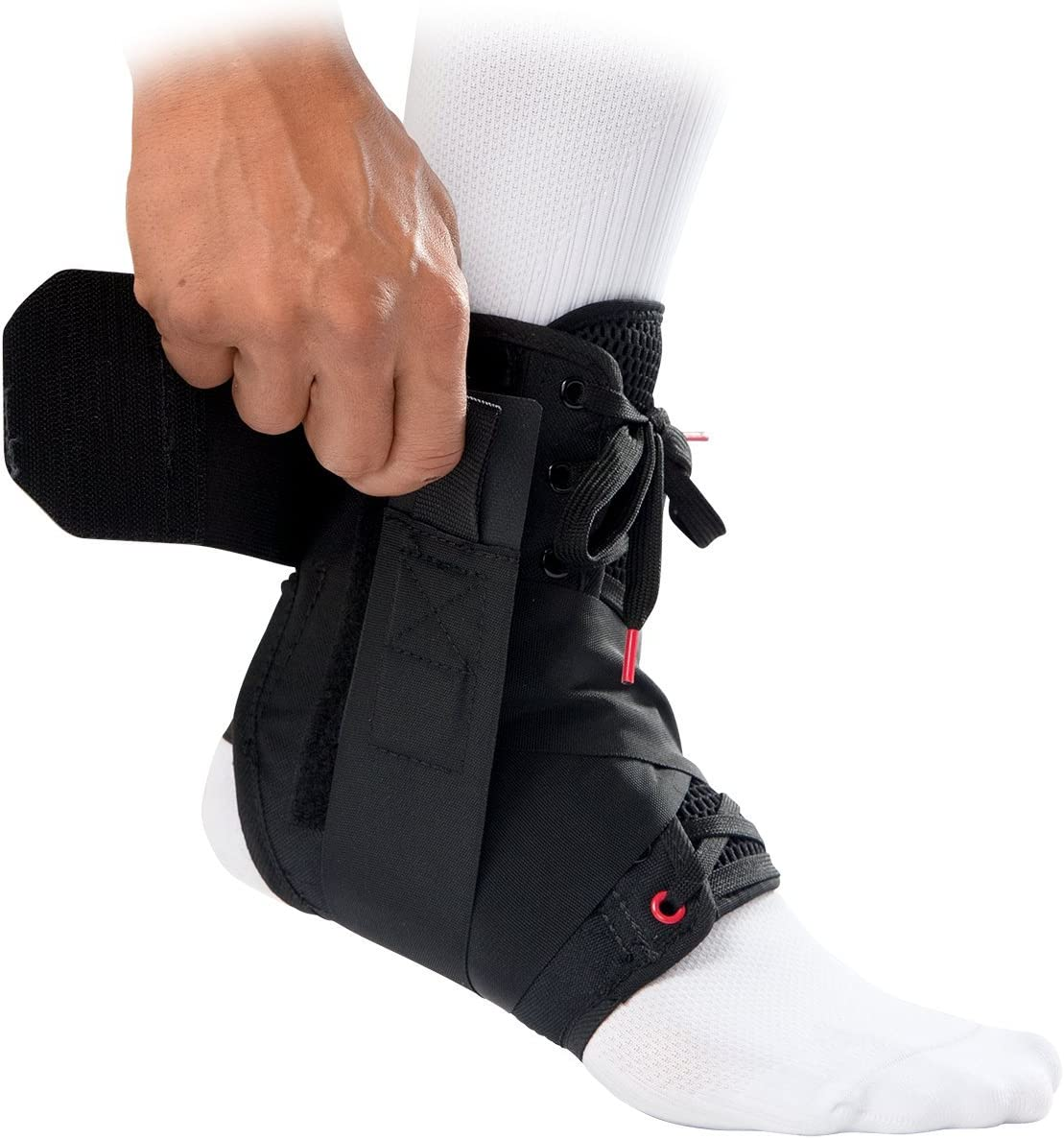 Mcdavid Ankle Brace, Ankle Support, Ankle Support Brace for Ankle Sprains, Volleyball, Basketball for Men & Women, Sold as Single Unit (1) : Sports & Outdoors
