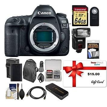 buydirect Canon EOS 5D Mark IV 4K Wi Fi Cuerpo de la Cámara ...