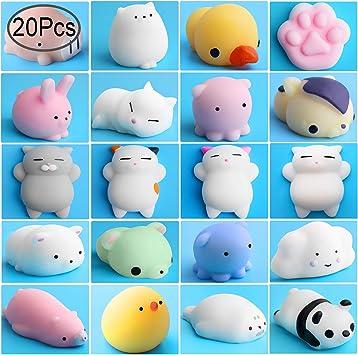 Amazon.com: Outee Mini Squishies Kawaii, 20 piezas de ...