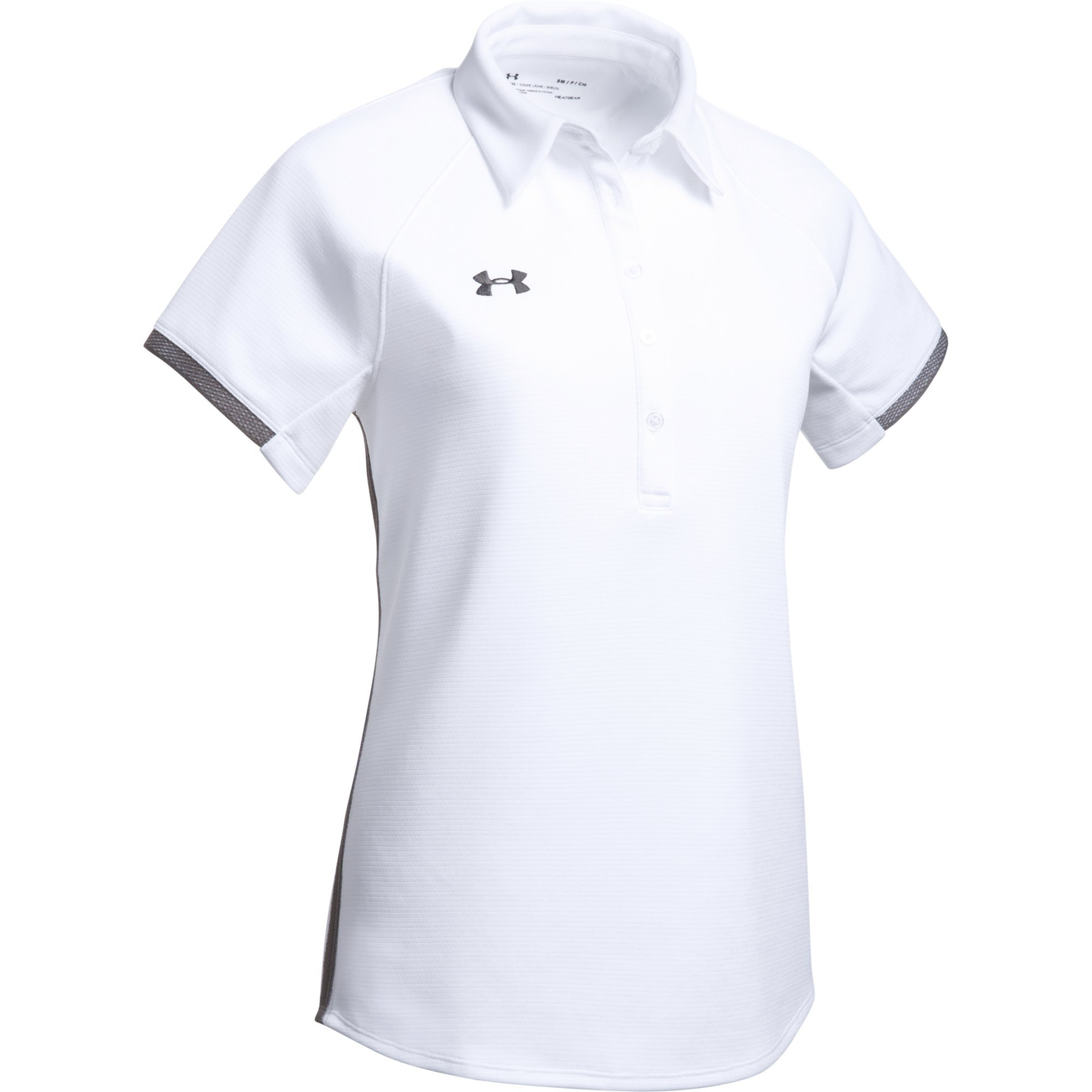 Under Armour Women's UA Rival Polo (XX-Small, White) by Under Armour
