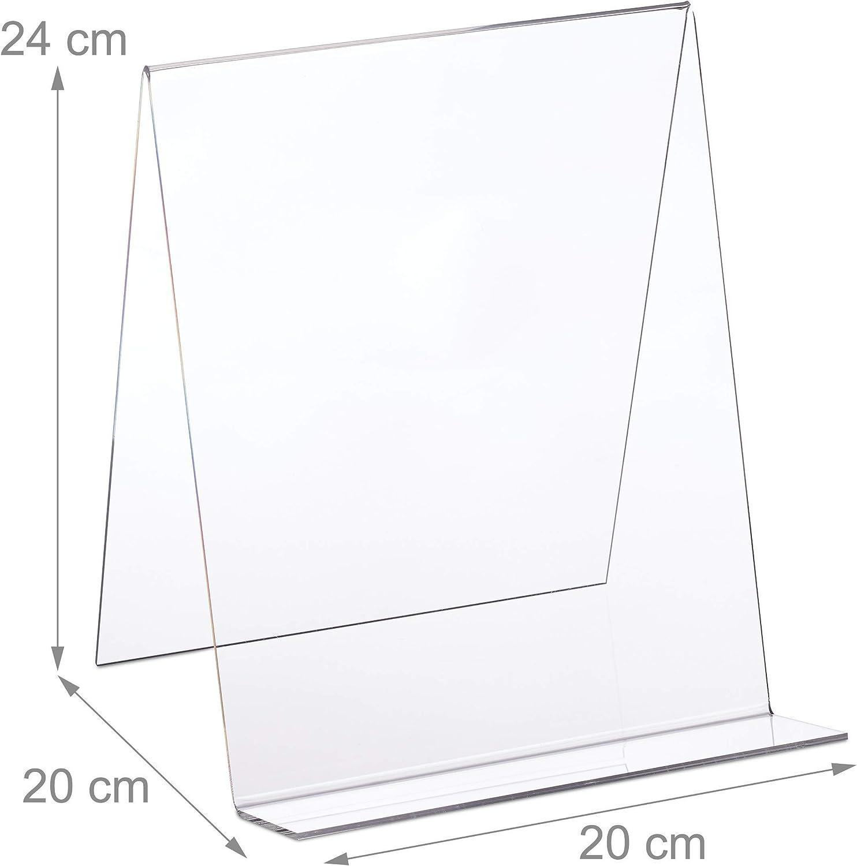 trasparente scala cm e pollici Westcott E-10181 00 Righello in plastica 20 cm // 8 pollici