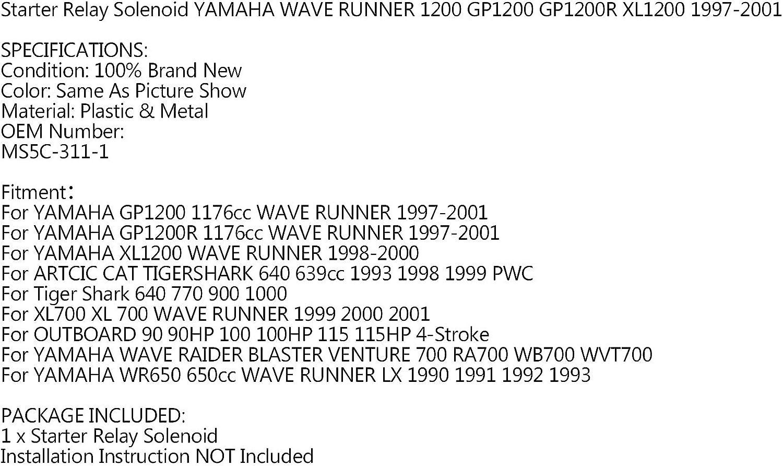 Artudatech Relais de d/émarreur pour Yamaha GP1200 1176cc WAVE RUNNER 1997-2001 XL1200 WAVE RUNNER 1998-2000