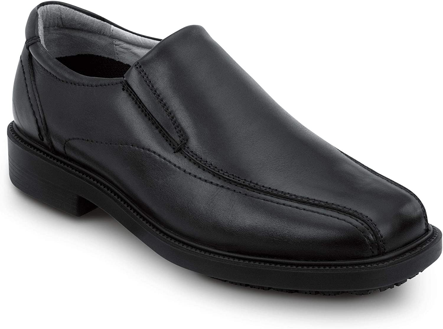 Amazon.com: SR Max Brooklyn, Men's, Black, Twin Gore Dress Style Soft Toe  Slip Resistant Work Shoe: Shoes