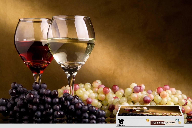 欲しいの pigbangbang、34.4 X 22.6インチ harvest、ハンドメイドintellectivゲームプレミアム木製DIY接着のJigsaw Nice Painting Nice – Autumn Autumn harvest Grape Wine – 1500ピースジグソーパズル B07FRZJDYB, 上河内町:567f172f --- 4x4.lt