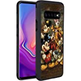 DISNEY COLLECTION Phone Case Compatible Samsung Galaxy S10 Mickey Mouse and Donald Duck Reinforced Drop Protection Hard PC Back Flexible TPU Bumper Protective Case for Samsung Galaxy S10