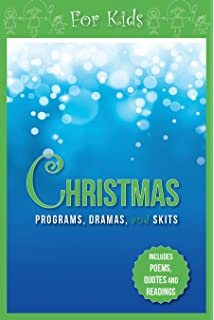 christmas programs dramas and skits for kids includes poems quotes and readings