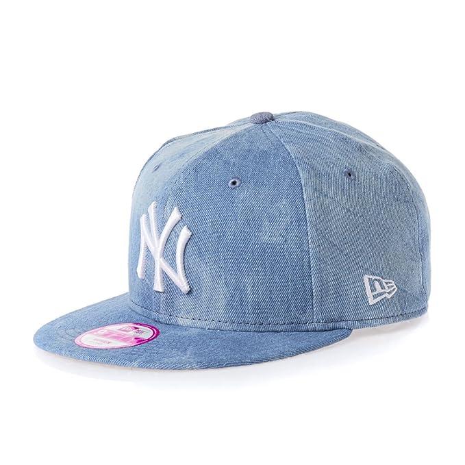 New Era Mujeres Gorras   Gorra Snapback Sum Wash Snap Ney York Yankees  9Fifty azul talla única  Amazon.es  Ropa y accesorios 0ad77b35908