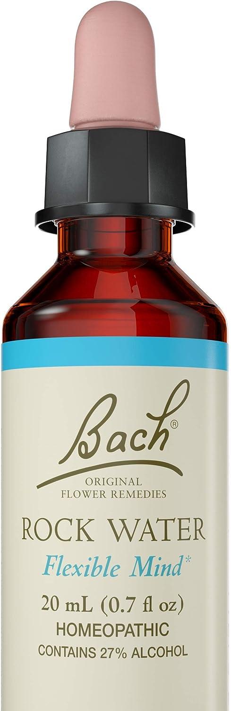 Bach Original Flower Remedy Dropper, Rock Water Essence, 0.7 Fl Oz