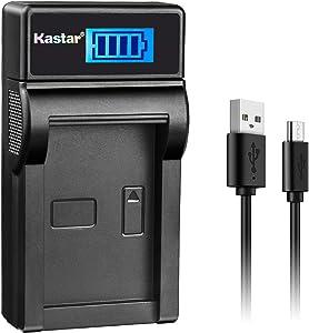 Kastar LCD Slim USB Charger for Hewlett Packard A1812A, L1812A and HP PhotoSmart R07, R507, R607, R707, R707v, R717, R725, R727, R817, R817v, R817xi, R818, R827, R837, R847, R926, R927, R937, R967