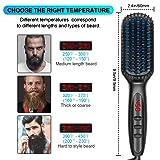 Beard Straightener for Men, Ceramic & Ionic Beard