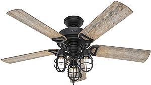Hunter Fan Company 50409 Starklake Ceiling Fan, 52, Natural Iron