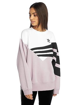 adidas Originals Damen Pullover diagonal Violet 32: Amazon