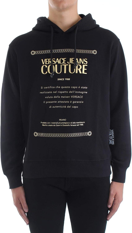 VERSACE JEANS COUTURE Felpa Versace in cotone Uomo cod.B7GZA7TP