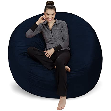 Miraculous Sofa Sack Plush Ultra Soft Bean Bags Chairs For Kids Teens Adults Memory Foam Beanless Bag Chair With Microsuede Cover Foam Filled Furniture Forskolin Free Trial Chair Design Images Forskolin Free Trialorg