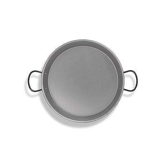 Metaltex 7398270000 Paellera, Acero pulido inducción, 32 cm